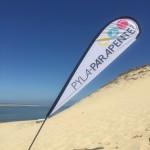 Parapente à la dune du Pilat