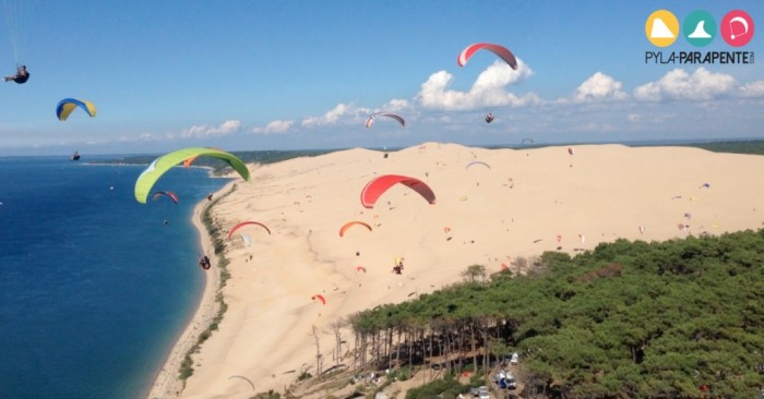 vols en parapente la dune du pilat pyla parapente. Black Bedroom Furniture Sets. Home Design Ideas
