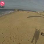 aterrissage parapente dune du Pilat