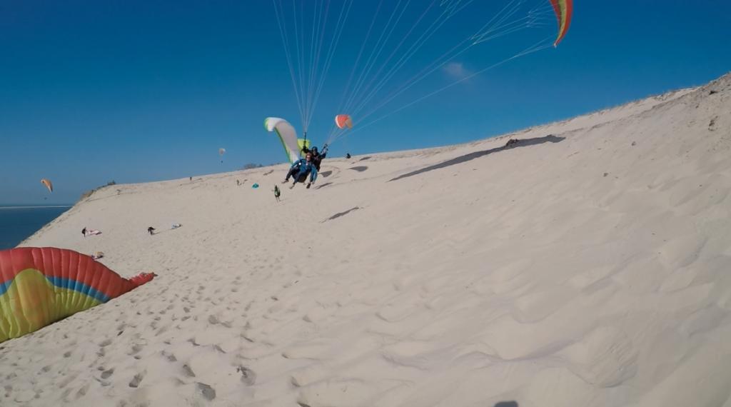 Wagga à la dune du Pyla