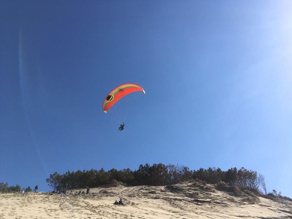 Pyla parapente dune du Pilat 2017