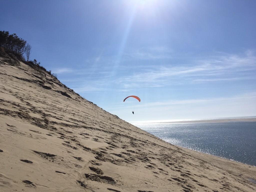 reprise des bapt mes parapente la dune du pyla pyla parapente. Black Bedroom Furniture Sets. Home Design Ideas