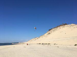 parapente dune du Pyla 2017