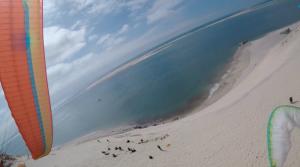 Baptême de parapente à la dune du Pilat 2